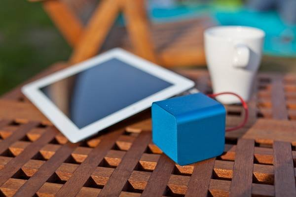 Nuforce - Cube - portable speaker - blauw